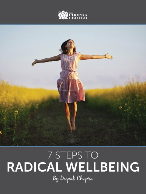RADICAL WELLBEING