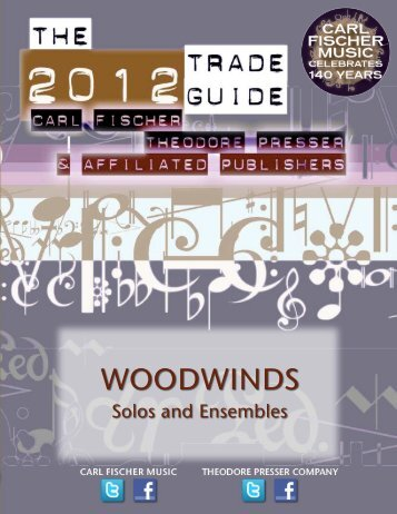 WOODWINDS - the Theodore Presser Company