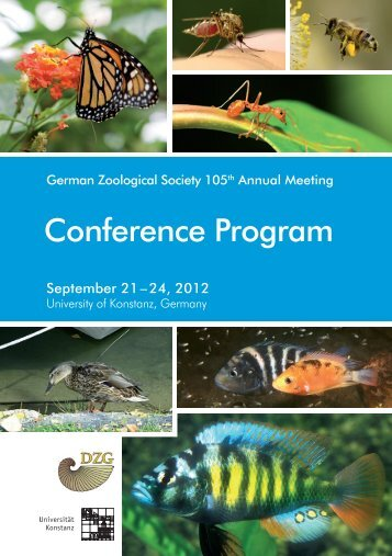 Conference Program - Deutsche Zoologische Gesellschaft