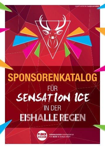 Sponsorenkatalog Sensation Ice