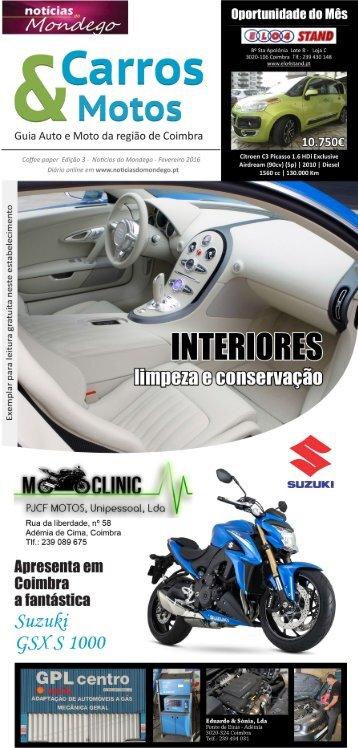 Carros & Motos - Edição 3, Fevereiro
