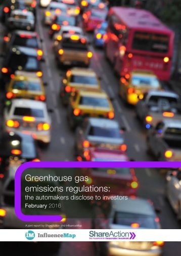 Greenhouse gas emissions regulations