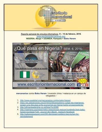 ¿Qué pasa en Nigeria?