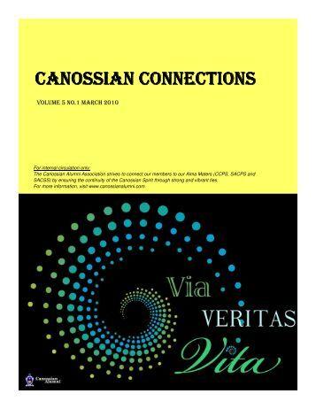 CANOSSIAN CONNECTIONS - Canossian Alumni