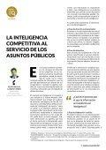 La inteligencia competitiva al servicio de los Asuntos Públicos - Page 5