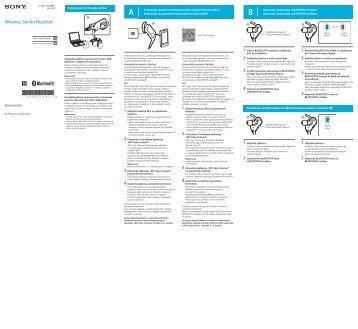 Sony MDR-AS600BT - MDR-AS600BT Guide de mise en route Serbe