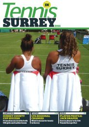 Tennis in Surrey 2014