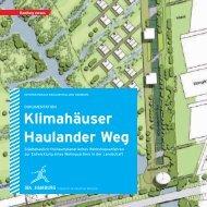 Klimahäuser Haulander Weg - IBA Hamburg