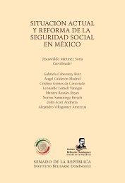 SITUACIÓN ACTUAL Y REFORMA DE LA SEGURIDAD SOCIAL EN MÉXICO