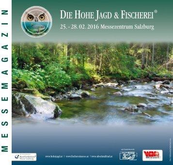 Das Messemagazin der Hohe Jagd & Fischerei in Salzburg