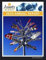 2010 ANNUAL REPORT - IBC