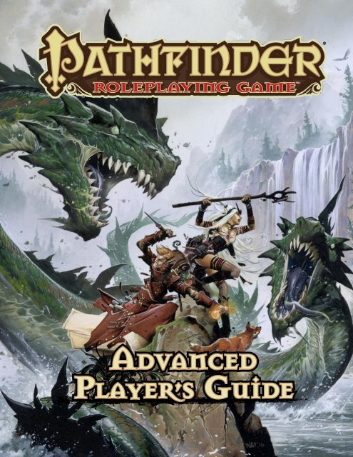 Advanced Players Guide