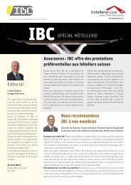 Risk Management - La solution d'IBC Contact