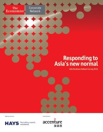 Responding to Asia's new normal