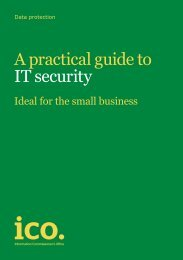 A practical guide to IT security