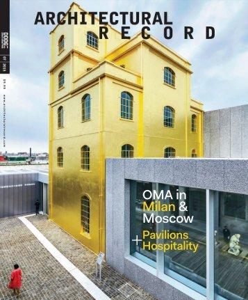 Architectural Record 2015-07