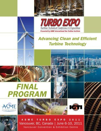Welcome to Turbo Expo 2011! - Events
