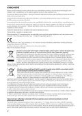 Sony MDR-RF865RK - MDR-RF865RK Consignes d'utilisation Tchèque - Page 2