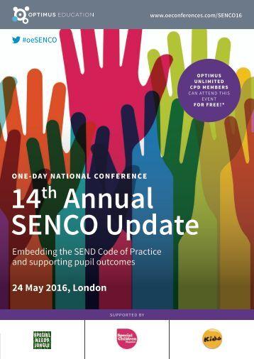14 Annual SENCO Update