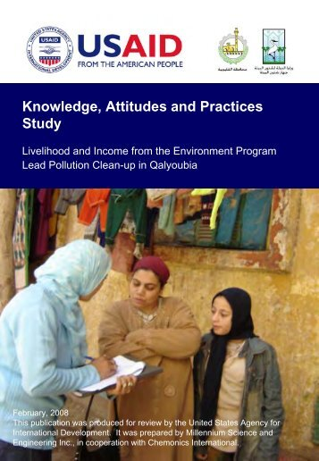 Knowledge, Attitudes and Practices Study - part - usaid