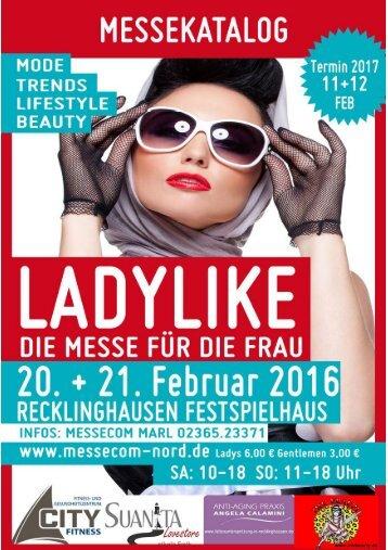 Ladylike Messekatalog 2016