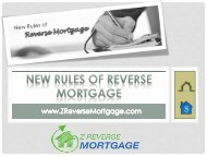 New Rules of Reverse Mortgage - Z Reverse Mortgage