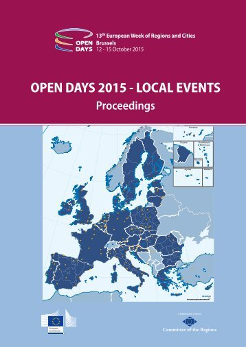 OPEN DAYS 2015 - LOCAL EVENTS