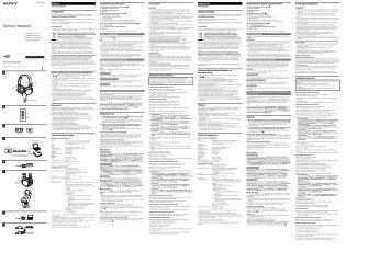 Sony DR-ZX103USB - DR-ZX103USB Consignes d'utilisation Polonais