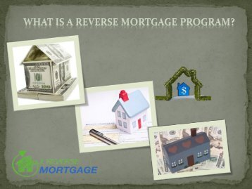 What is a Reverse Mortgage Program? - Z Reverse Mortgage