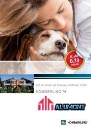 KÖMMERLING 76 Alumont.net