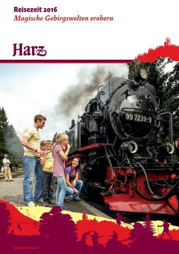 Harz-Reisezeit 2016 | Magische Gebirgswelten erobern