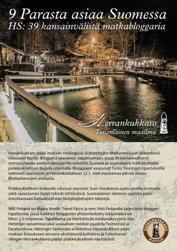 Herrankukkaro, 9 Parasta asiaa Suomessa