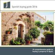 Spanish buying guide 2016