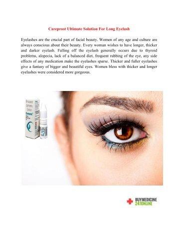 Buy Careprost Online | Buy Careprost Eye Drops Online | Buy Generic  Bimatoprost Online