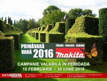 Campanie Makita PPG primavara-vara 2016