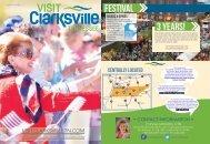 Enjoy, Visit, Experience, and Savor Clarksville - 2016