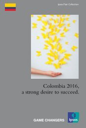 Colombia 2016 a strong desire to succeed