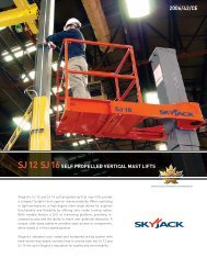 SELF PROPELLED VERTICAL MAST LIFTS - WS-Skyworker