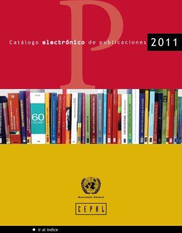 Catálogo digital 2011