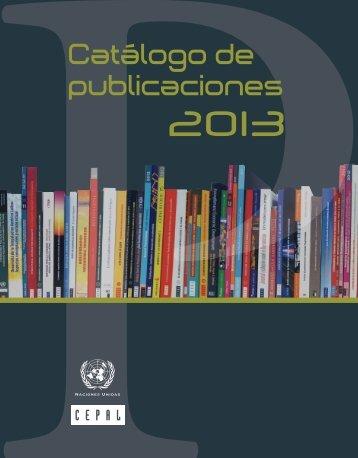 Catálogo digital 2013