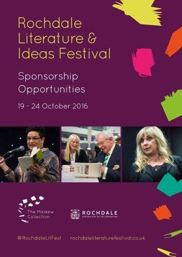 Literature & Ideas Festival
