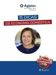 Dona Maria Economia: 15 Dicas de Economia Doméstica