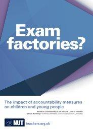 Exam factories?