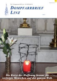 Dompfarrbrief Linz 1/2016
