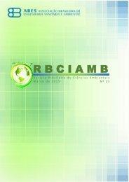 EDIÇÃO 35 - Março/15 - RBCIAMB