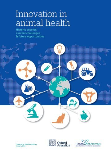 Innovation in animal health