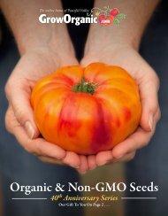 Organic & Non-GMO Seeds