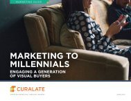 MARKETING TO MILLENNIALS