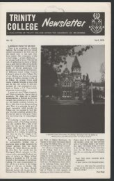 Trinity College Newsletter, vol 1 no 12, April 1978