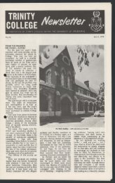 Trinity College Newsletter, vol 1 no 13, March 1979